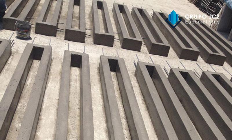 venta cerco tipo uni prefabricados concreto