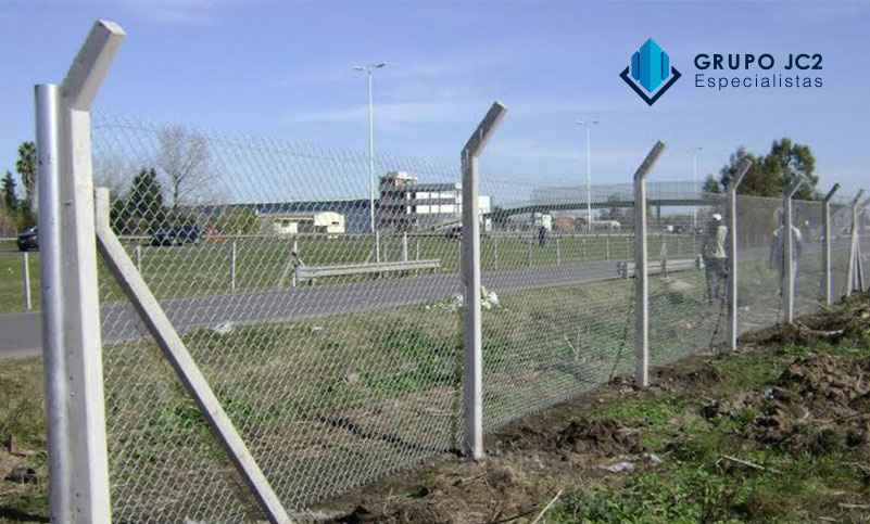 fabricación poste cerco pq prefabricados de concreto